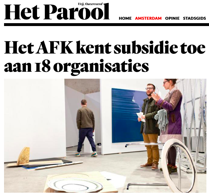 BAU Amsterdam - Platform voor
